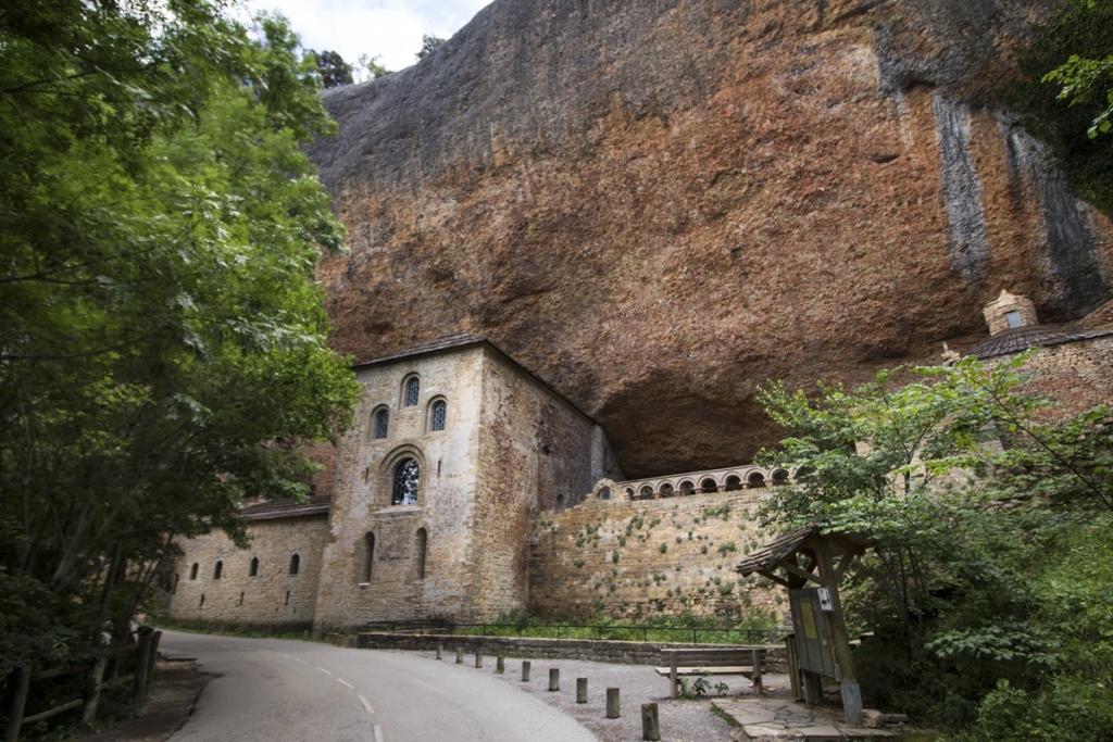Pyrenees Travels: SAN JUAN DE LA PEÑA Mönchskloster